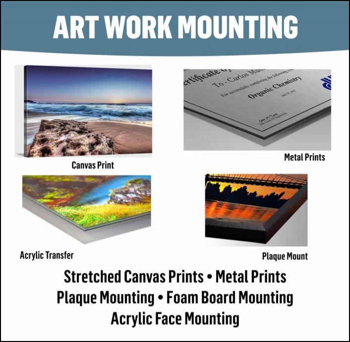 Art Work Mounting
