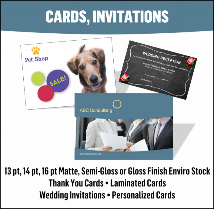 Custom Cards & Personalized Invitations