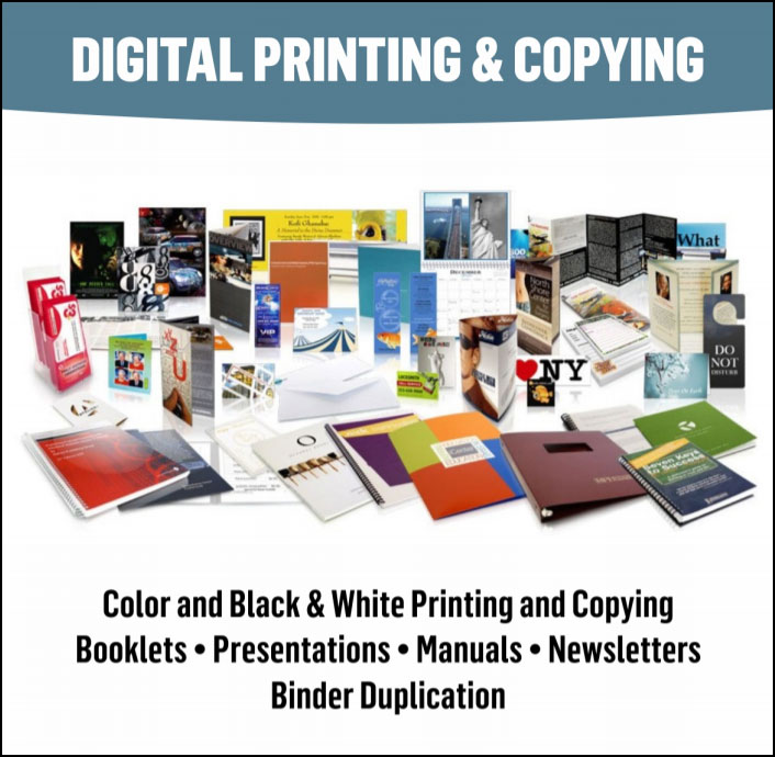 Calgary Downtown's Best Printing Shop & Copying Services