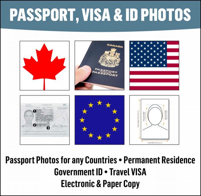 Passport Visa & ID Photos