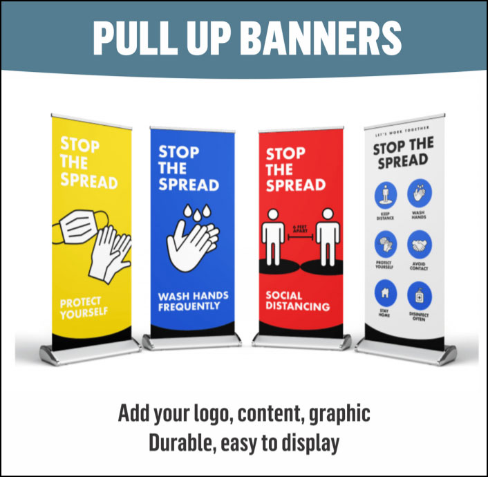 Pull Up Banners Services Calgary